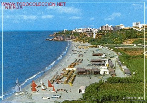 Playa de Burriana 1980, nerja